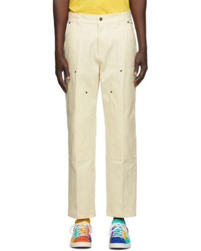 Spodni bawełna bawełna prosto spodnie o prostym kroju Aime Leon Dore