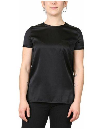 Czarna t-shirt Manila Grace