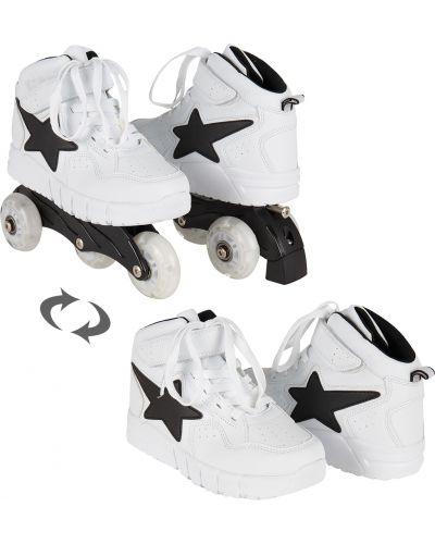 Ботинки белый всесезонный Kidix