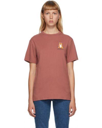 Рубашка с логотипом Maison Kitsuné