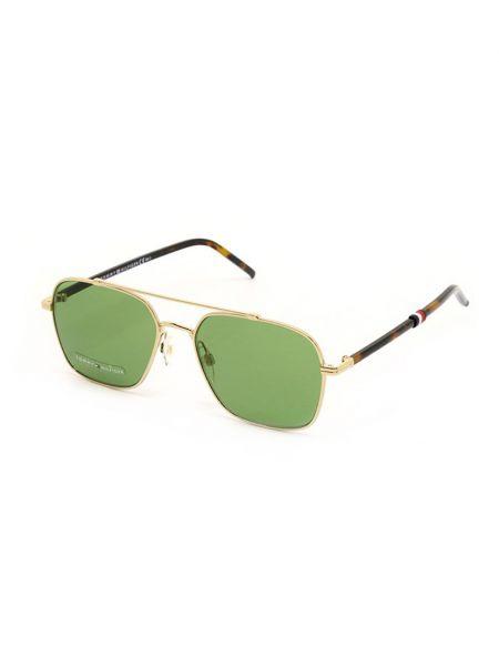 Оправа для очков металлические - зеленые Tommy Hilfiger