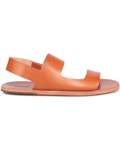 Pomarańczowe sandały Marsell