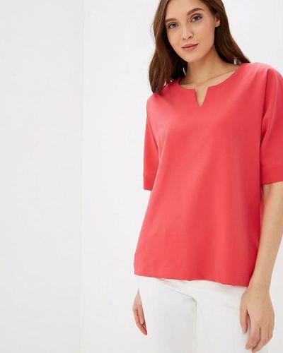Блузка с коротким рукавом коралловый весенний Grafinia