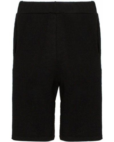 Черные шорты с карманами Carcel