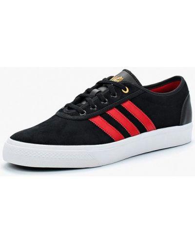 Черные кеды замшевые Adidas Originals