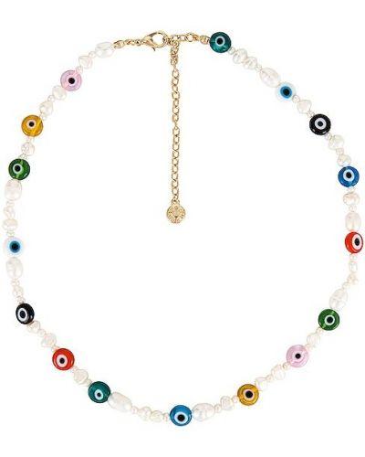 Klasyczny biały naszyjnik perły Baublebar
