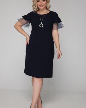 Платье на пуговицах сетчатое марита