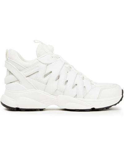 Кожаные кроссовки - белые Michael Michael Kors