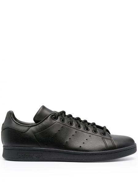 Czarny top koronkowy bawełniany Adidas By Pharrell Williams