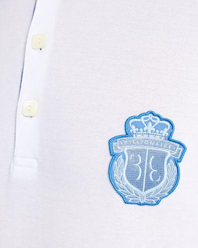 Футболка с логотипом с нашивками Billionaire