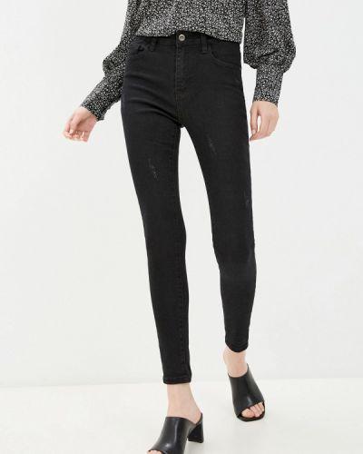 Черные джинсы-скинни узкого кроя Bruebeck