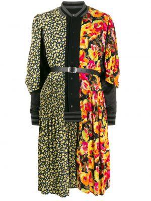 Свободная черная куртка со вставками свободного кроя Junya Watanabe