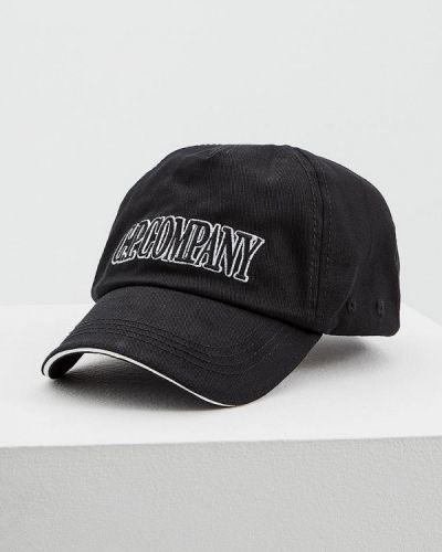 Черная кепка C.p. Company