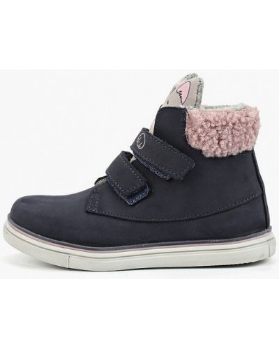 Ботинки из нубука котофей