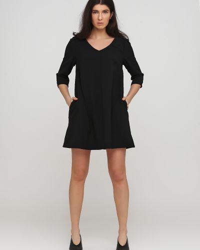 Платье свободного кроя - черное Frnch