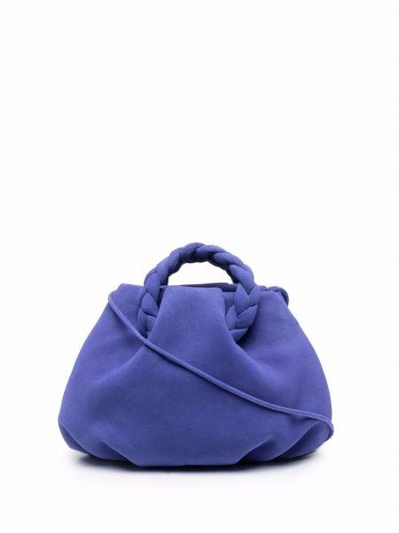 Niebieska torebka zamszowa Hereu