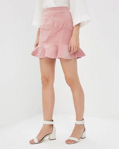 Розовая юбка облегающая Glamorous