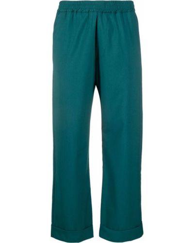 Zielone spodnie bawełniane Barena