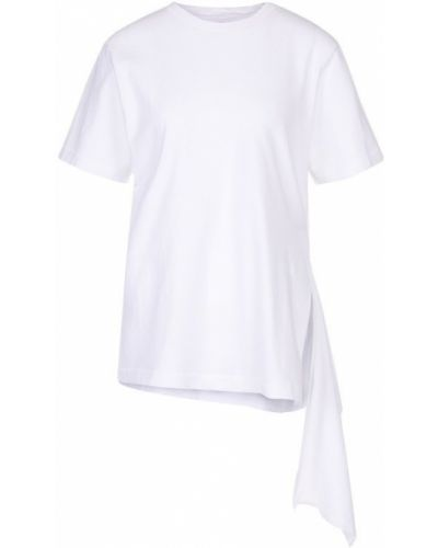 Хлопковая футболка асимметричного кроя Citizens Of Humanity