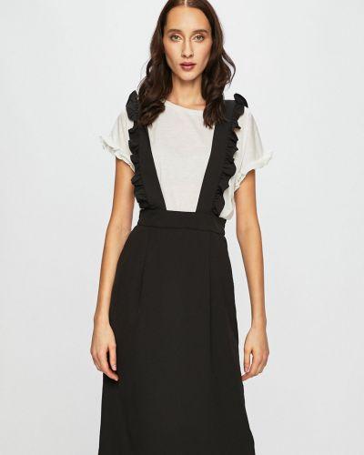 Платье с поясом с карманами на резинке Vila