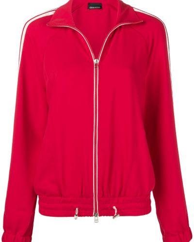 Красная спортивная куртка с манжетами Ermanno Ermanno