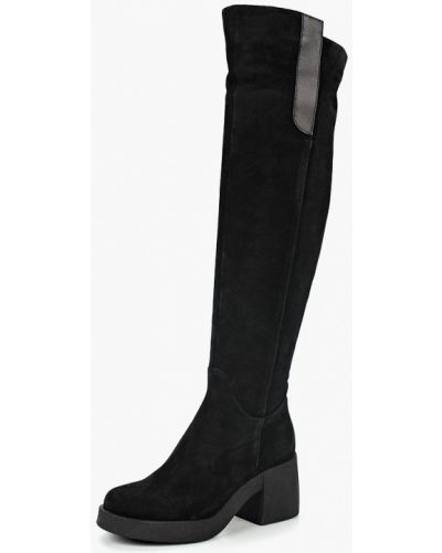 Ботфорты на каблуке черные демисезонный Dolce Vita