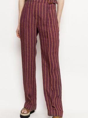 Spodnie z paskiem Deni Cler Milano