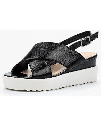Черные босоножки на каблуке Damerose