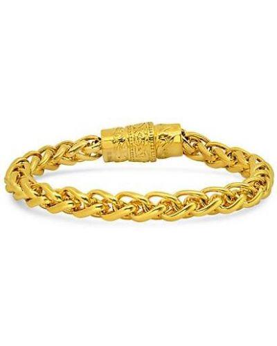 Złota bransoletka ze złota pozłacana Anthony Jacobs