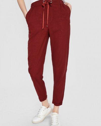 Повседневные красные брюки O'stin