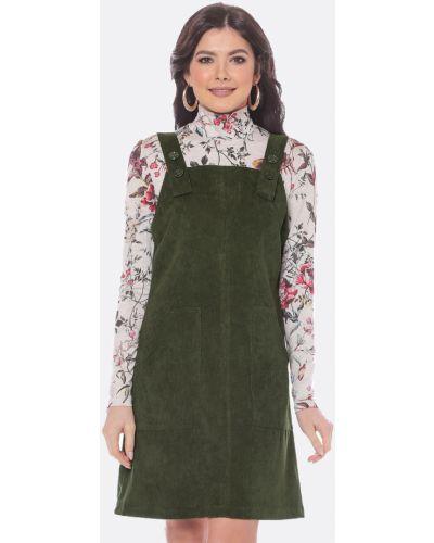 Теплое платье трапеция платье-сарафан Dstrend