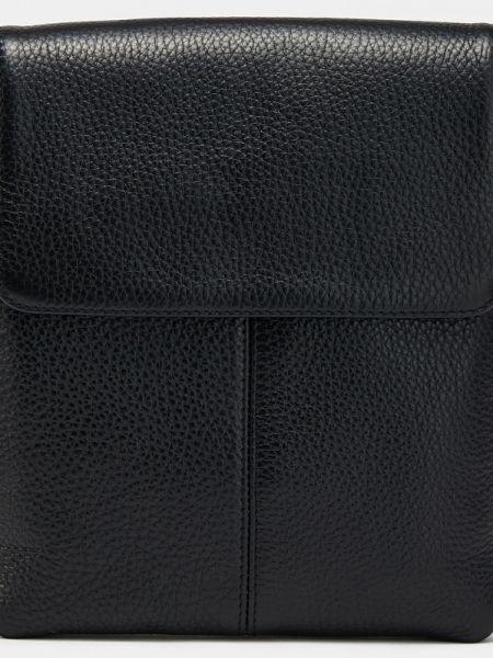 Черная текстильная кожаная сумка с подкладкой Ralf Ringer