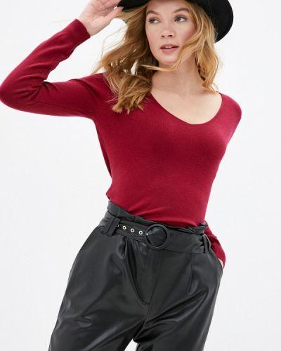 Бордовый пуловер B.style