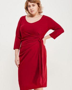 Платье миди Goddiva Size Plus