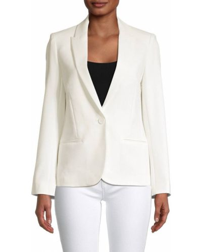 Удлиненный пиджак с подкладкой с длинными рукавами из вискозы Zadig & Voltaire