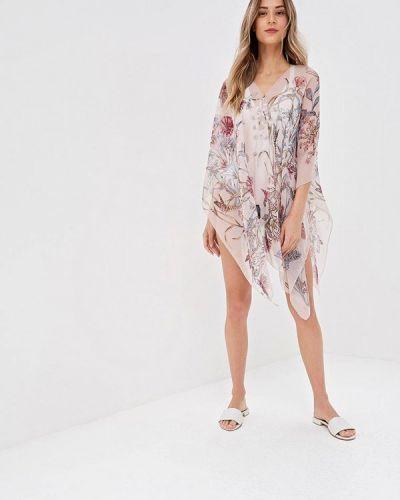 Пляжное платье весеннее розовое Venera