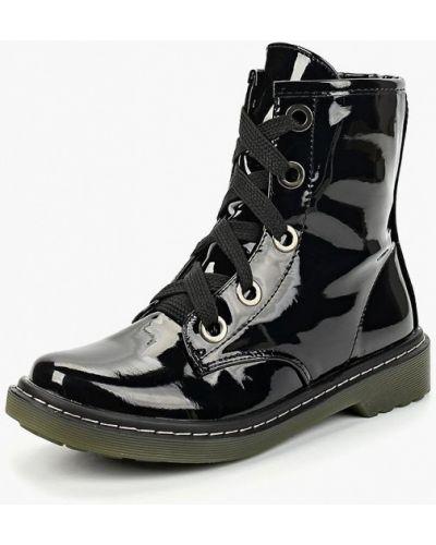 Кожаные ботинки осенние черные Ws Shoes