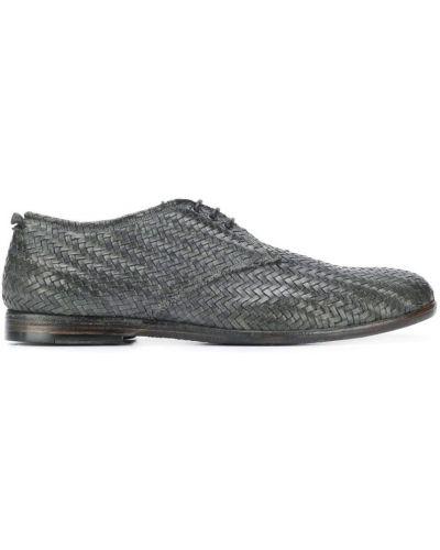 Туфли на шнуровке на каблуке Silvano Sassetti
