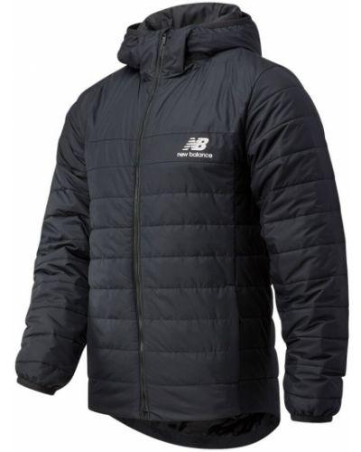 Черная теплая пуховая куртка New Balance