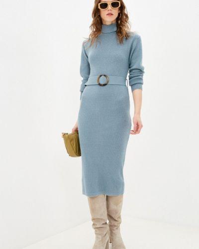 Трикотажное вязаное платье Zarina