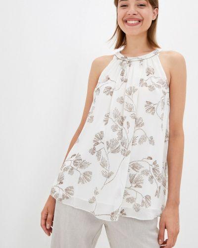 Белая весенняя блузка элис