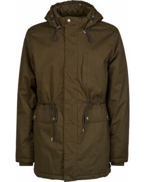 Хлопковая куртка - зеленая Bellfield