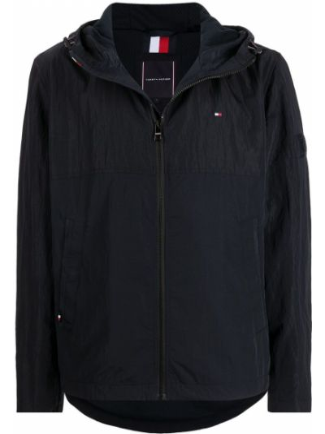 Куртка с капюшоном - синяя Tommy Hilfiger