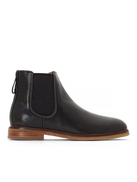 Ботинки челси кожаные высокие Clarks