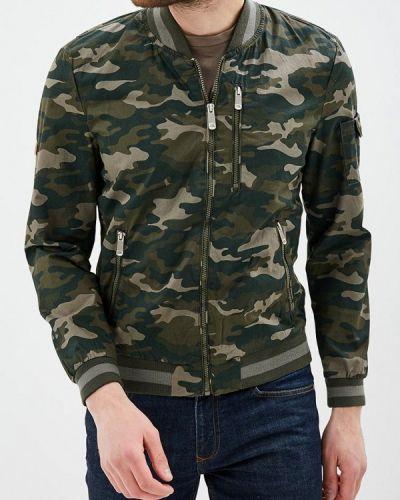 Куртка свободная зеленый Finn Flare