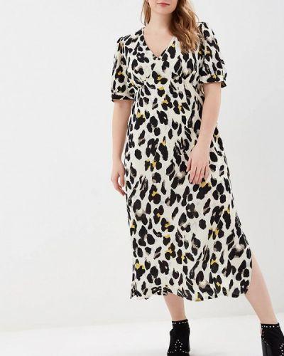 Платье - белое Lost Ink Plus