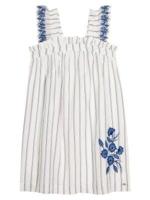 Льняное повседневное белое платье Tartine Et Chocolat