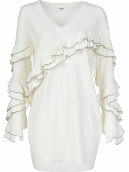 Платье из вискозы - белое Twin-set