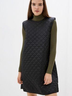 Прямое платье - черное Ichi