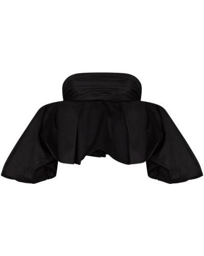 Czarna koszulka Khaite
